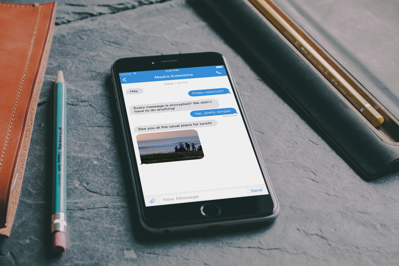Secure messaging on your phone with the Signal app